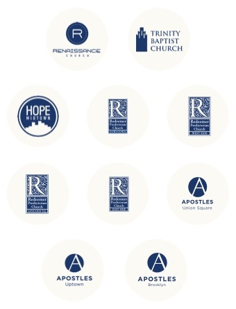 Partner church logos